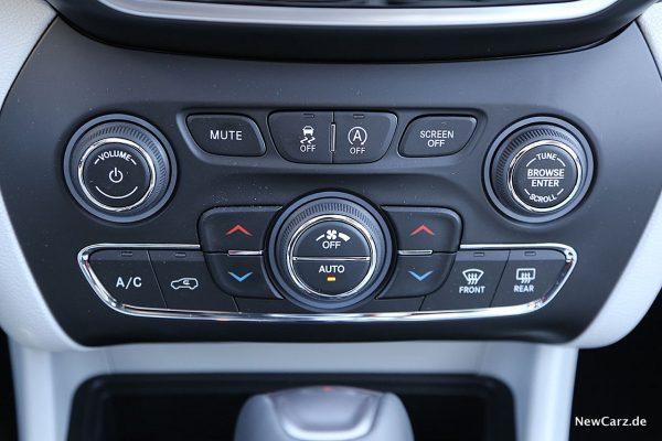 Jeep Cherokee Klima