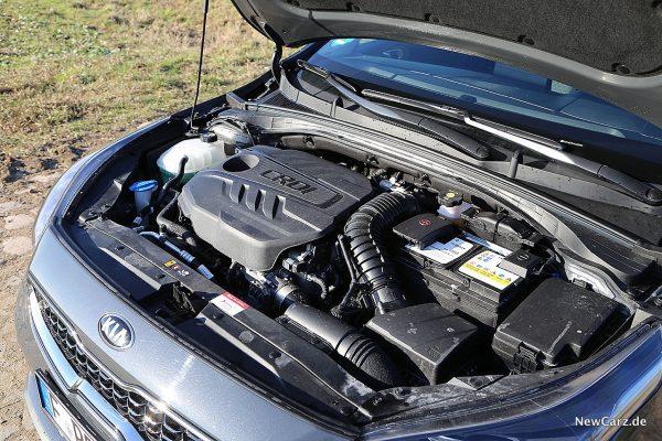 Kia Ceed CD Motorraum