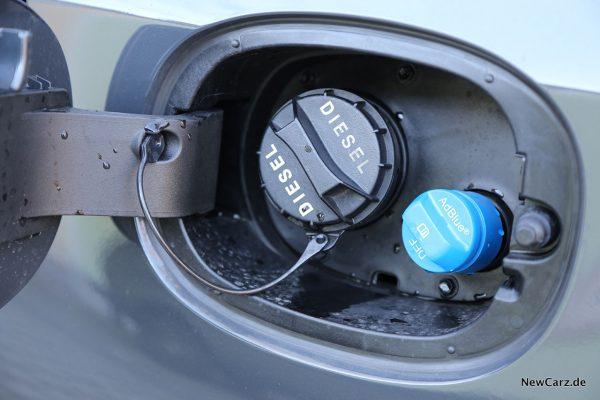 Kia Ceed CD Tankstutzen