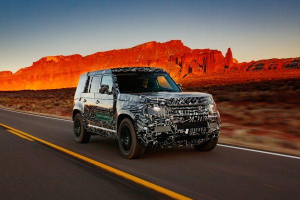 Land Rover Defender 2019 Straßenfahrt
