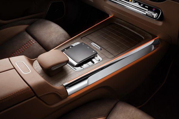 Mercedes-Benz Concept GLB Mittelkonsole