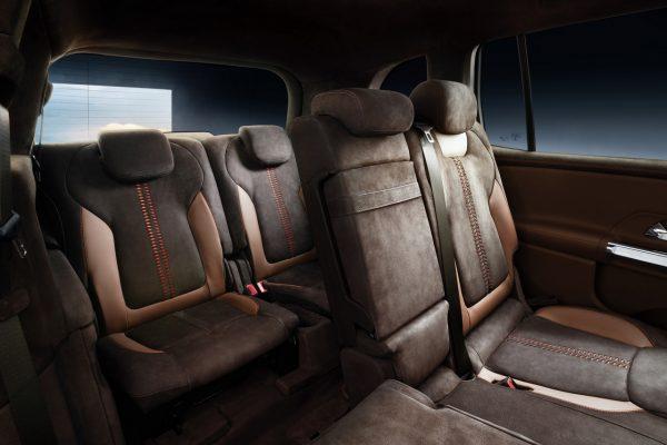 Mercedes-Benz Concept GLB Innenraum