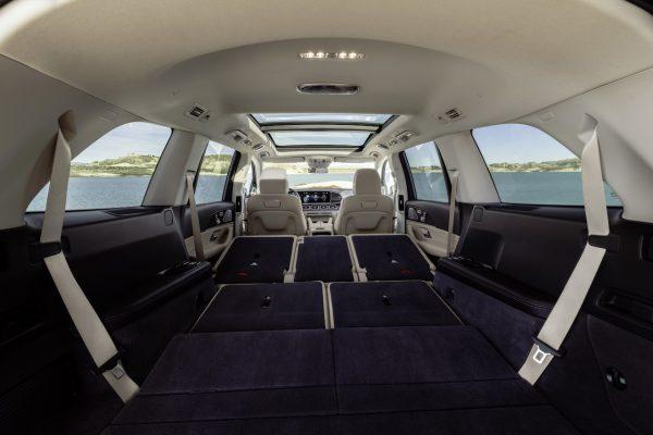Laderaum im neuen Mercedes-Benz GLS