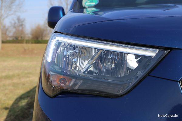 Opel Combo Life Scheinwerfer