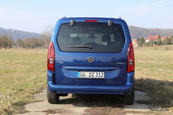 Opel Combo Life Heck