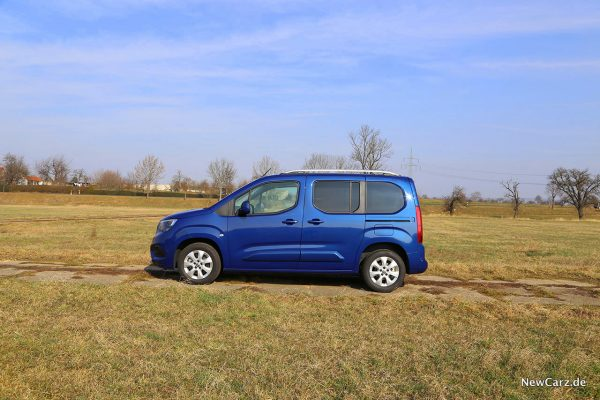 Opel Combo Life Seite