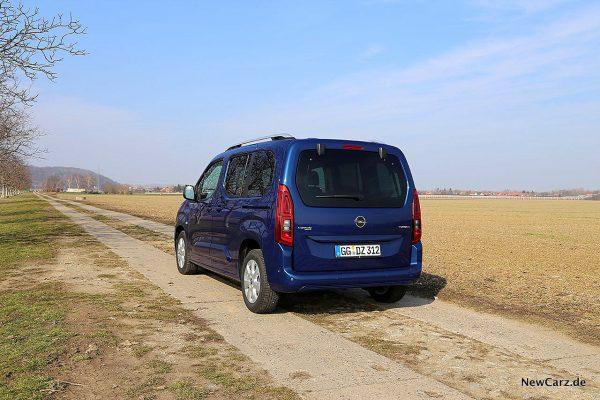 Opel Combo Life schräg hinten links