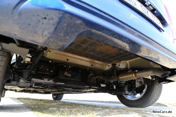 Opel Combo Life Endrohrverlauf