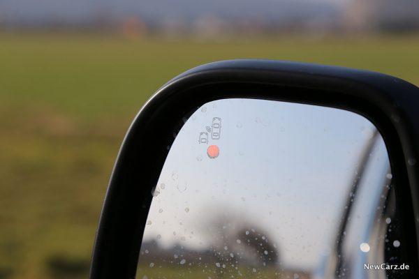 Opel Combo Life Totwinkelwarner