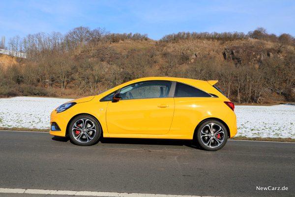Opel Corsa GSi Seitenansicht