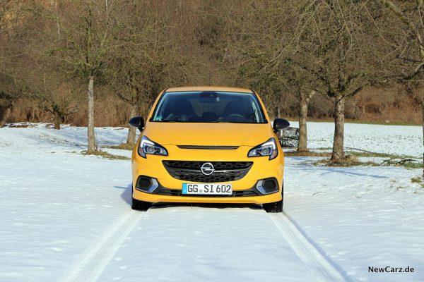Opel Corsa GSi Front