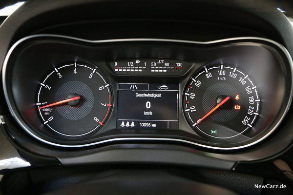Opel Corsa GSi Cockpit
