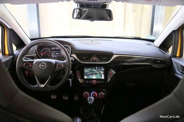 Opel Corsa GSi Instrumententafel