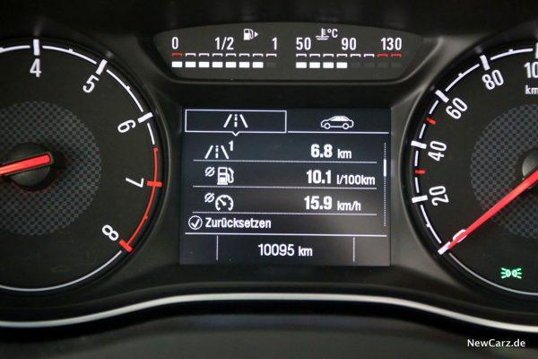Opel Corsa GSi Verbrauch