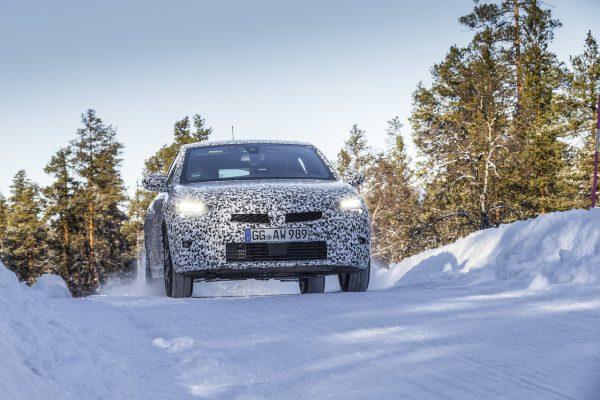 Opel Corsa 2020 Wintertest