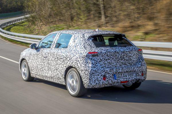 Opel Corsa 2020 Testfahrt