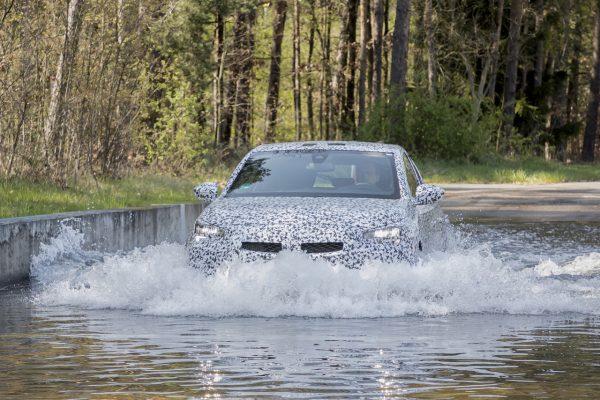 Opel Corsa 2020 Wasserdurchfahrt