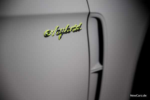 Porsche Panamera Turbo S E-Hybrid e-hybrid Schriftzug