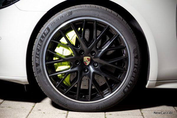 Porsche Panamera Turbo S E-Hybrid Bremsen