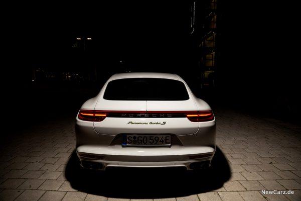 Porsche Panamera Turbo S E-Hybrid Heck