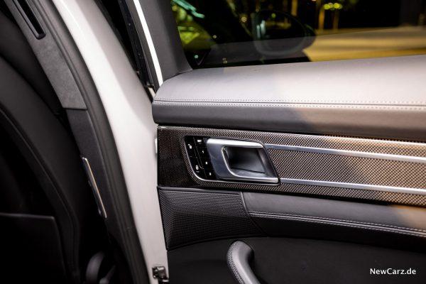 Porsche Panamera Turbo S E-Hybrid elektrische Sitze hinten