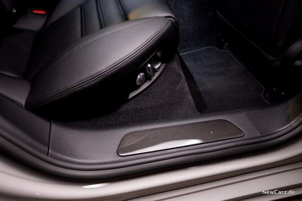 Porsche Panamera Turbo S E-Hybrid Einstiegsleisten Carbon