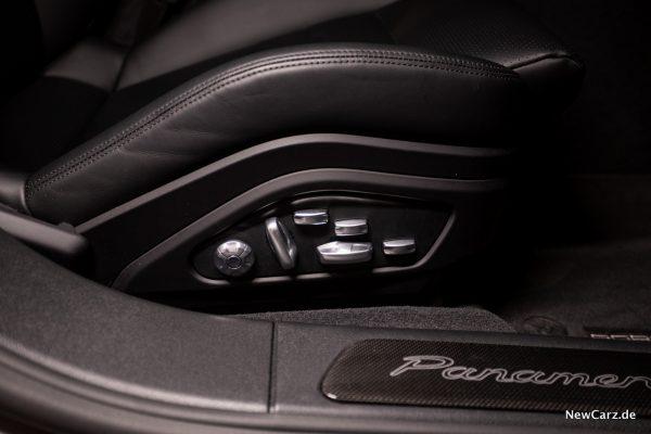 Porsche Panamera Turbo S E-Hybrid Sitzverstellung 18-fach