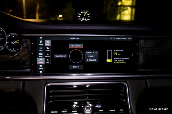 Porsche Panamera Turbo S E-Hybrid Touchscreen