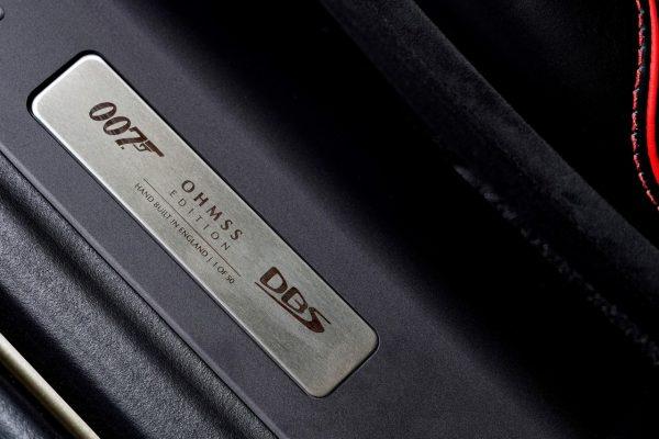 Aston Martin OHMSS Einstiegsleiste