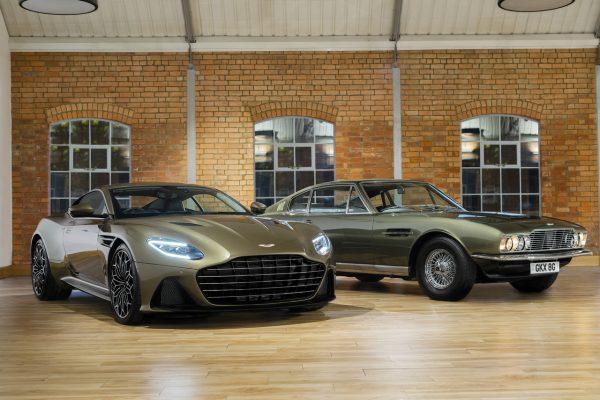 Aston Martin OHMSS mit Ur-Modell