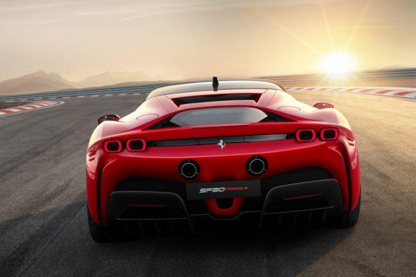 Ferrari SF90 Stradale Heck