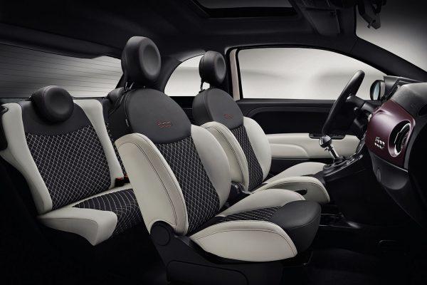 Fiat 500 Star Innenraum