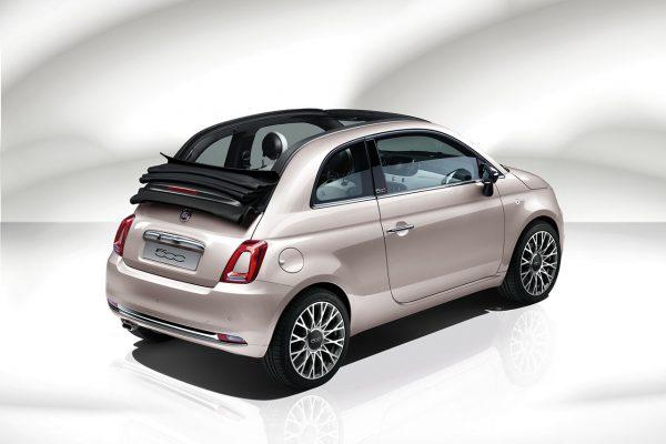 Fiat 500 Star schräg hinten
