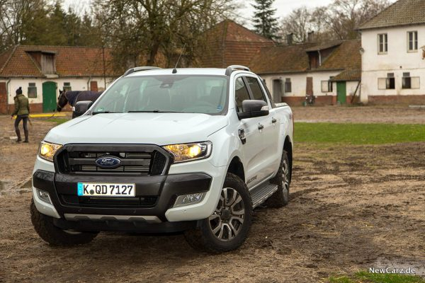 Ford Ranger Wildtrak Halogenlicht