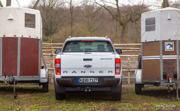 Ford Ranger Wildtrak Heck