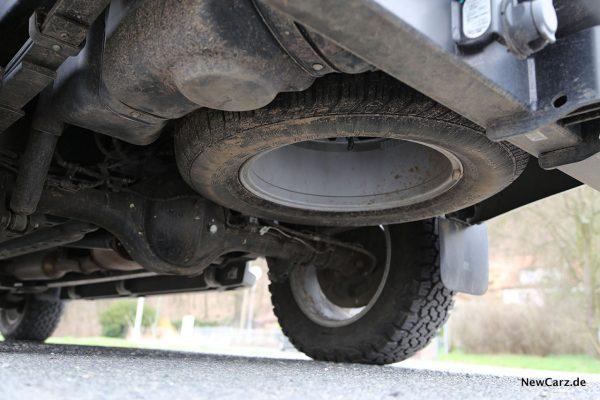 Ford Ranger Wildtrak Reserverad