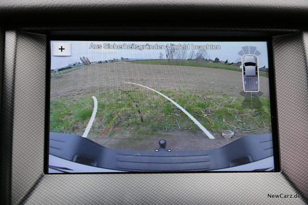 Ford Ranger Wildtrak Rückfahrkamera