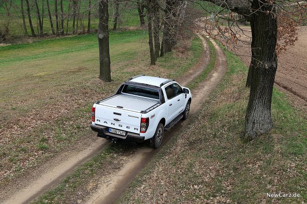 Ford Ranger Wildtrak von oben