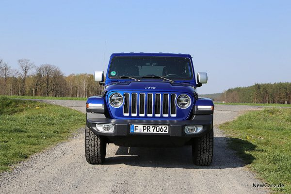 Jeep Wrangler Front