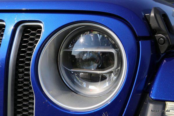 Jeep Wrangler Scheinwerfer LED