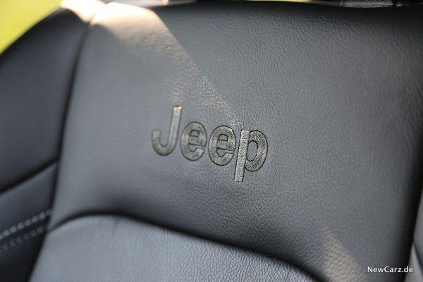 Jeep Wrangler Jeep-Stickerei