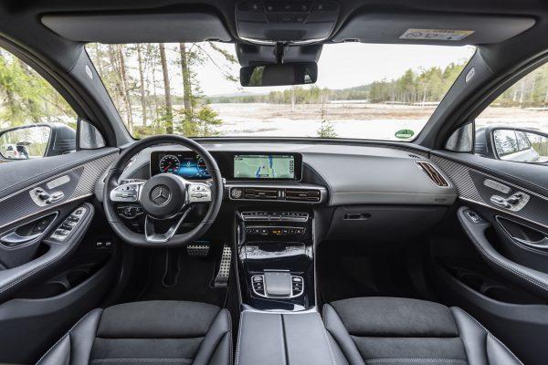 Mercedes-Benz EQC 400 Innenraum
