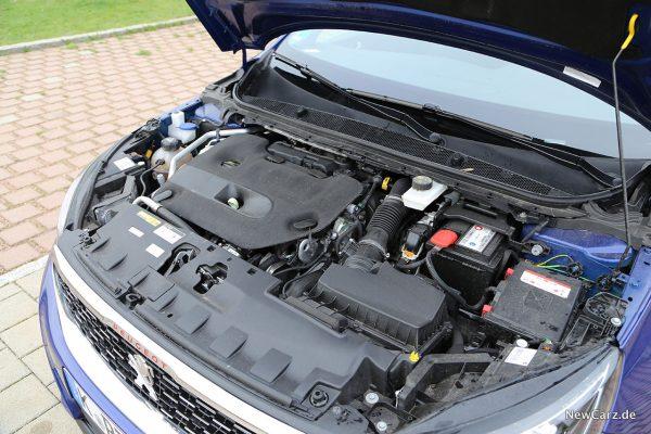 Peugeot 308 SW Motorraum