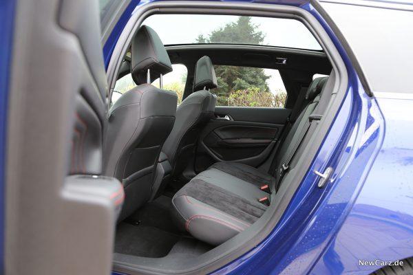 Peugeot 308 SW Rücksitze