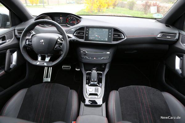 Peugeot 308 SW Armaturenbereich