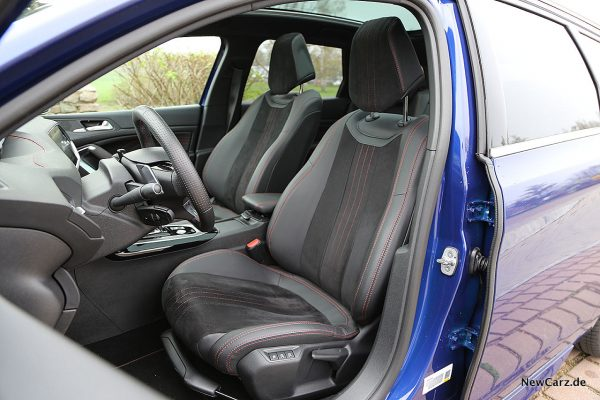 Peugeot 308 SW Sitze vorn
