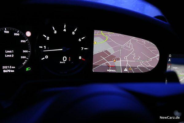 Porsche 992 911 Carrera S Cockpitinstrumente