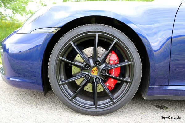 Porsche 992 911 Carrera S Bremsanlage vorn