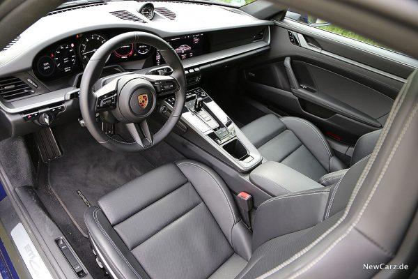 Porsche 992 911 Carrera S Innenraum