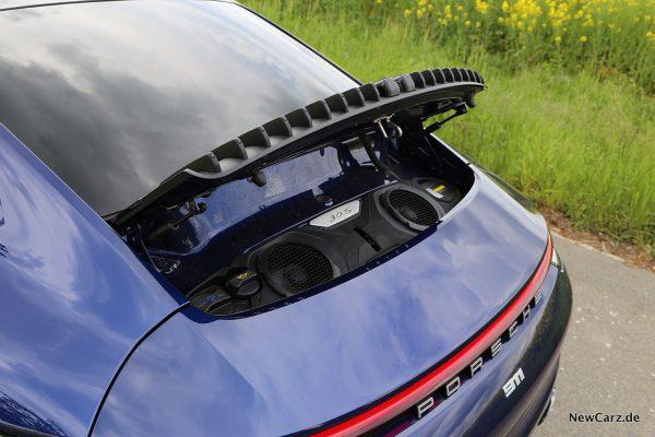 Porsche 992 911 Carrera S Motorhaube